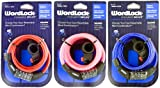 Wordlock Inc Cl-420-As 5' Flexible Steel Cable 4 Dial Bike Lock Assorted Colors