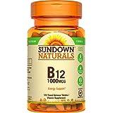 Sundown Naturals Vitamin B-12 1000 mcg, 120 Time Release Tablets