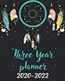 2020-2022 Three Year Planner: Cute