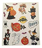 Little Suzy's Zoo Vinyl Halloween Window Cling ~ 14 Clings