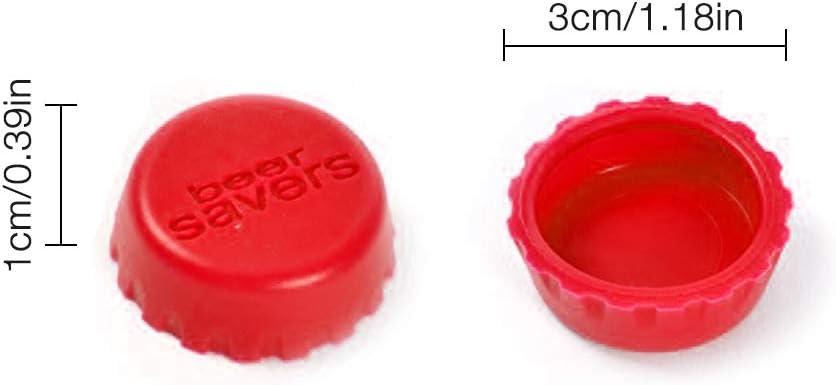 Deckel IWILCS 18 St/ücke Silikon Kronkorken Kreative Bunte Bier oder Wein Kapseln Flaschenverschluss Bier-Kapseln Verschluss Caps Saftflasche Beer Saver St/öpsel
