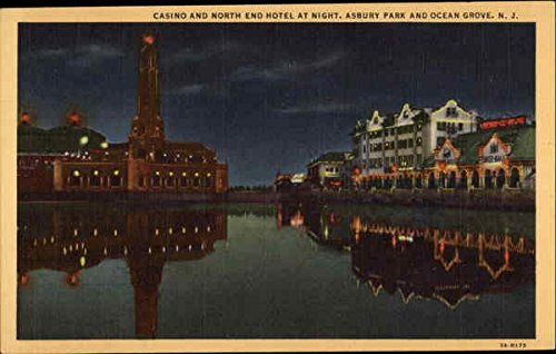 casino-and-north-end-hotel-at-night-asbury-park-ocean-grove-new-jersey-original-vintage-postcard