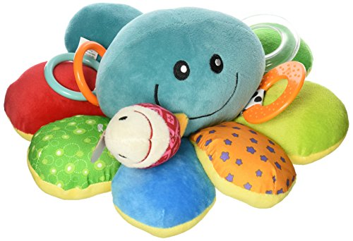 Great Deal! Nuby Ollie Activity Plush Toy, Octopus