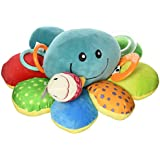 Nuby Ollie Activity Plush Toy, Octopus