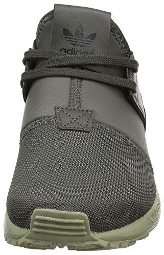 Adidas Zx Flux Plus, Chaussures de Running Homme, Vert (Utility Grey/Utility Grey/Ftwr White), 38 EU