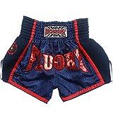 FLUORY Muay Thai Shorts, Latest Muay Thai Boxing Equipment Hanwrap/Embroidery Thai Shorts