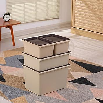 xmz Outdoor/Indoor Caja, Muebles de jardín, plástico Almacenamiento Cajas de Cajas: Amazon.es: Hogar