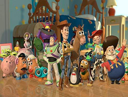 - Toy Story Woody Buzz Lightyear Mr. Potato Head Disney Bo Peep Hamm Jessie Bullseye Stinky Pete Rex Mrs. Potato Head Edible Cake Topper Image ABPID00939 - 1/2 sheet