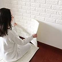 Silly 3D Pattern Brick Wall Sticker Wall Paper Home Decor,Size 60x60x1cm