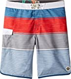Rip Curl Big Boys' Good Times Boardshort, Red/Red, 27