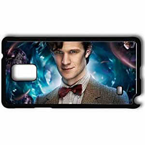 Personalized Samsung Note 4 Cell phone Case/Cover Skin Doctor Who Black WANGJING JINDA