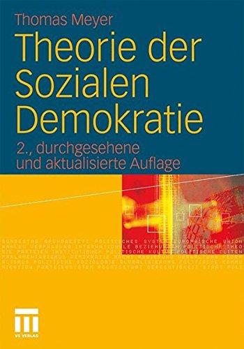 Theorie der Sozialen Demokratie (German Edition)