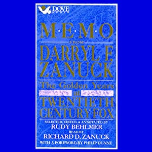 Memo from Darryl F. Zanuck Audiobook