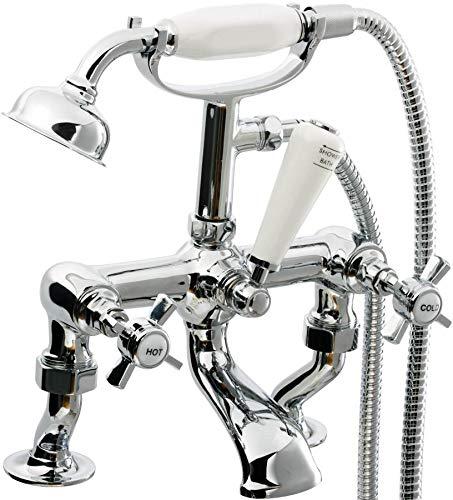 Bath Shower Mixer VeeBath Richmond Traditional Classic Bathroom Bath Shower Mixer Victorian