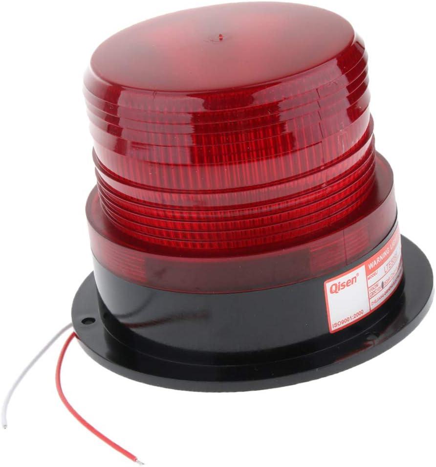 Orange B Blesiya Flexible LED Warning Emergency Flash Strobe Rotating Beacon Light Motor