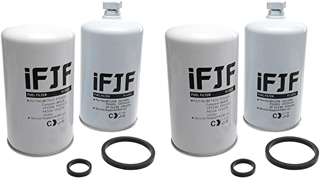 Wix Replacement Filters for FASS I Replaces FF3003 FS1001