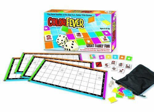 Color Fever Tile Game of Strategy and Luck by Color Fever
