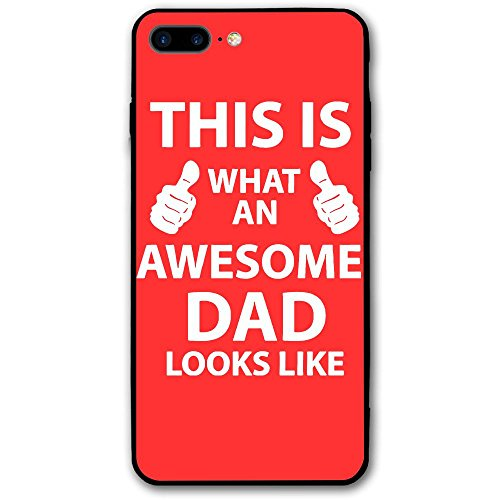 This Is What An Awesome DAD Looks Like 4 Iphone 8 Plus Case Mobile Phone Caseing - What Usps Is Standard Shipping