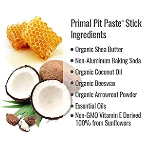 Primal Pit Paste All Natural Royal & Rogue Deodorant – Aluminum Free, Paraben Free, Non-GMO, for Men and Women – BPA Free 2 Oz Convenience Stick – Scented with Essential Oils