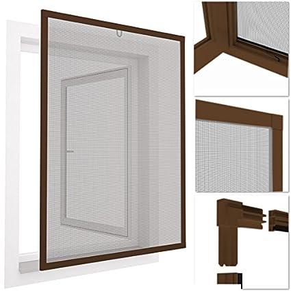 Mosquitera con marco de aluminio para ventanas easyLINE - 100 x 120 ...