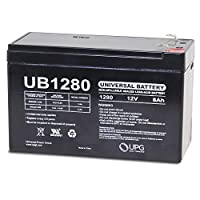 The BEST UPG Ub1280f1 Sla 12v 8ah .187 by Generic by UPG