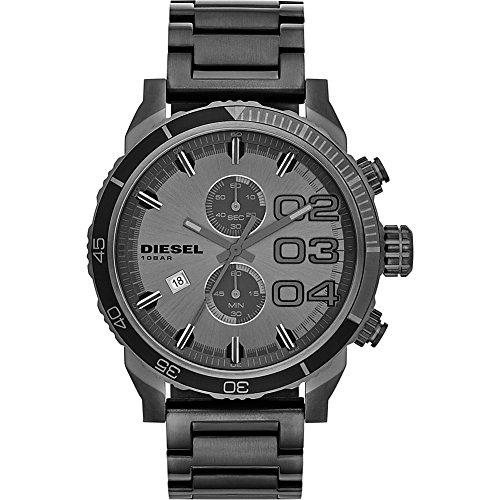 Diesel DZ4314 Double Down Series Analog Display,Analog Quartz Grey  Men's Watch. -