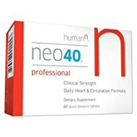 Neo40 Professional - Nitric Oxide Booster with Methylfolate - Natural Blood Pressure...