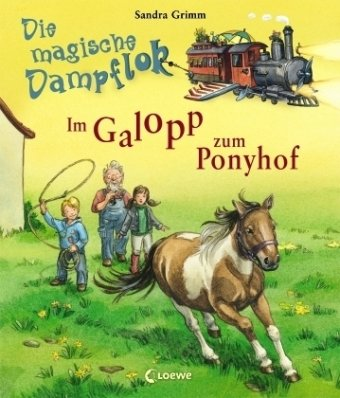 Im Galopp zum Ponyhof