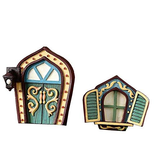 giftcraft-glow-in-the-dark-fairy-door-and-window-2-piece-setgnome