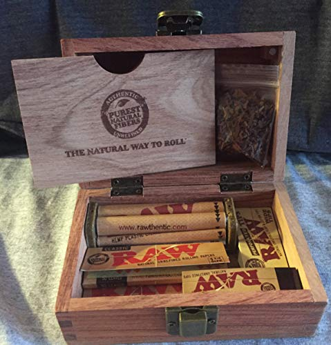 - RAW Storage Box with Rolling Accessories