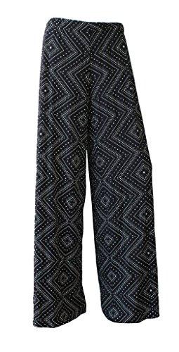 WearAll - Pantalon - Femme multicolore Multicoloured -  multicolore - 42