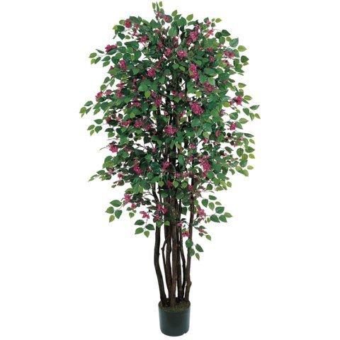 Wholesale 6 Ft Bougainvillea Silk Tree, [Decor, Silk Flowers]