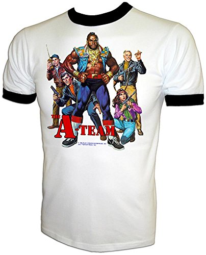 Rare Vintage 1983 A-Team Mr. T IRON-ON T-SHIRT Iron-On T-Shirt, large -