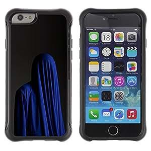 """Hypernova Defender Series TPU protection Cas Case Coque pour Apple Iphone 6 [Moda Religión musulmana Burka azul""""]"""