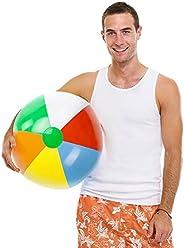 Sol Coastal SBEA-13 Jumbo 6-Color Inflatable Beach Ball