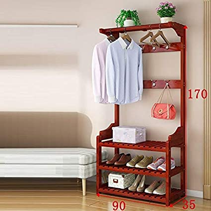 Amazon.com: ROSJUX Porte Manteau Mural Decoratif Hat Ropa ...