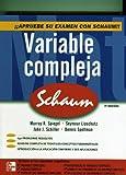 img - for Variable Compleja Serie Schaum. El Precio Es En Dolares. book / textbook / text book