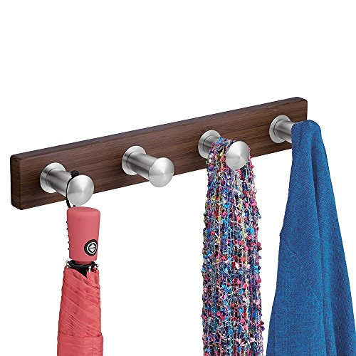 mDesign Entryway Storage Jackets Scarves
