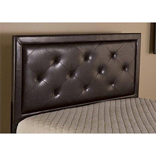 Atlin Designs Tufted King Panel Headboard in Brown
