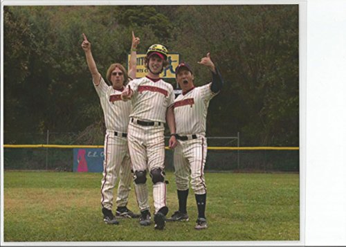 The Benchwarmers with David Spade Jon Heder and Ron Schneider on Field 8 x 10 LAMINATED Photo 003