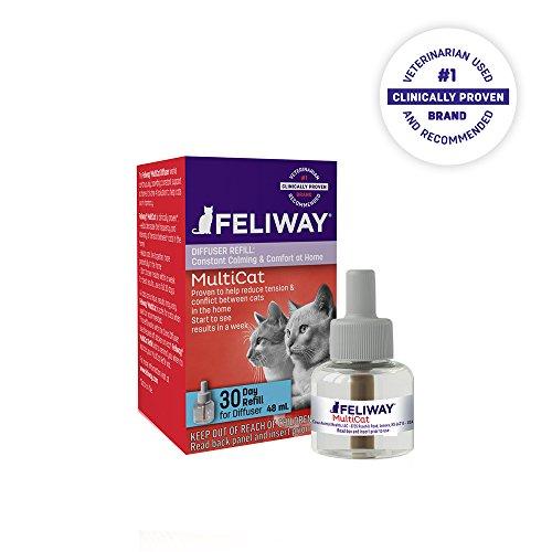 CEVA Animal Health FELIWAY MultiCat Refill for Cats - Comfort Zone Feliway Refill