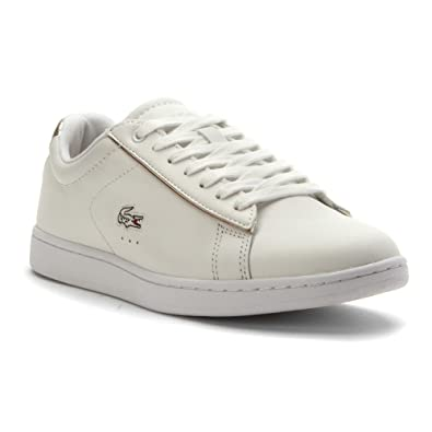 693af10d59211 Lacoste Carnaby Men US 7 White Sneakers  Buy Online at Low Prices in ...