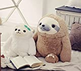 New 1PC Cute Sloth Plush Toy Doll Movie&TV Stuffed Animal Sloth Doll Children Birthday Gift 40cm/50cm (White 40cm)