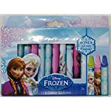 Disney Frozen 12 Count Jumbo Crayon Crayons Set