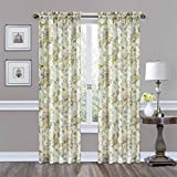 Cheap Traditions by Waverly 14468052084PTM Forever Yours 52-Inch by 84-Inch Floral Single Window Curtain Panel, Platinum
