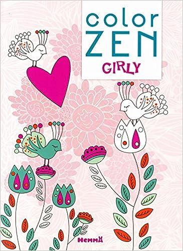 Livres Color Zen - Girly pdf