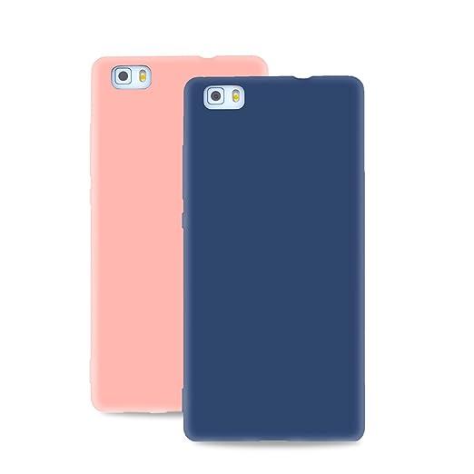 3 opinioni per 2x Cover Huawei P8 Lite, CaseLover Morbido TPU Silicone Custodia per Huawei P8