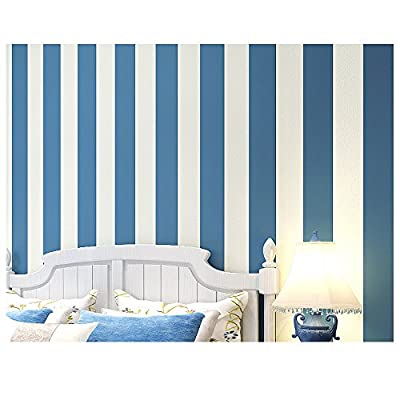 Wallpaper Modern Stripes Decal Textured Home Décor for Bedroom/Living Room/Kids Room (Shapes/Stripes)