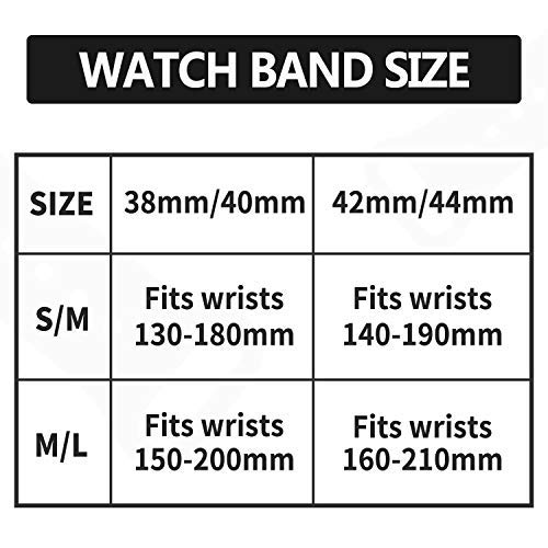 Idon Sport Watch Band, Soft Silicone Replacement Sports Bands Compatible with Watch SeriesSE/Series6/5/4/3/2/1 38MM 40MM for Watch All Models (Lilac,38MM M/L)