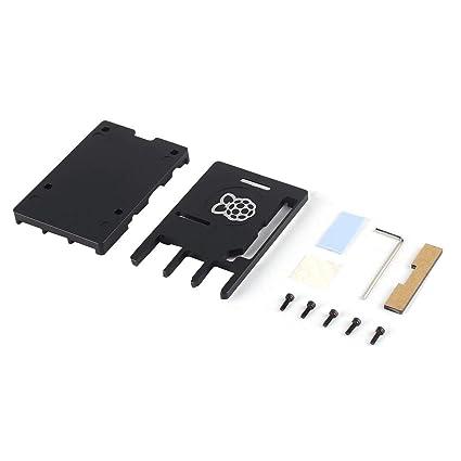 Caja CNC ultrafina de aleación de aluminio para Raspberry Pi 3 ...